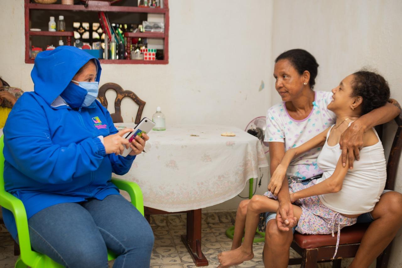Registro de Localización y Caracterización de Personas con Discapacidad del municipio Zona Bananera