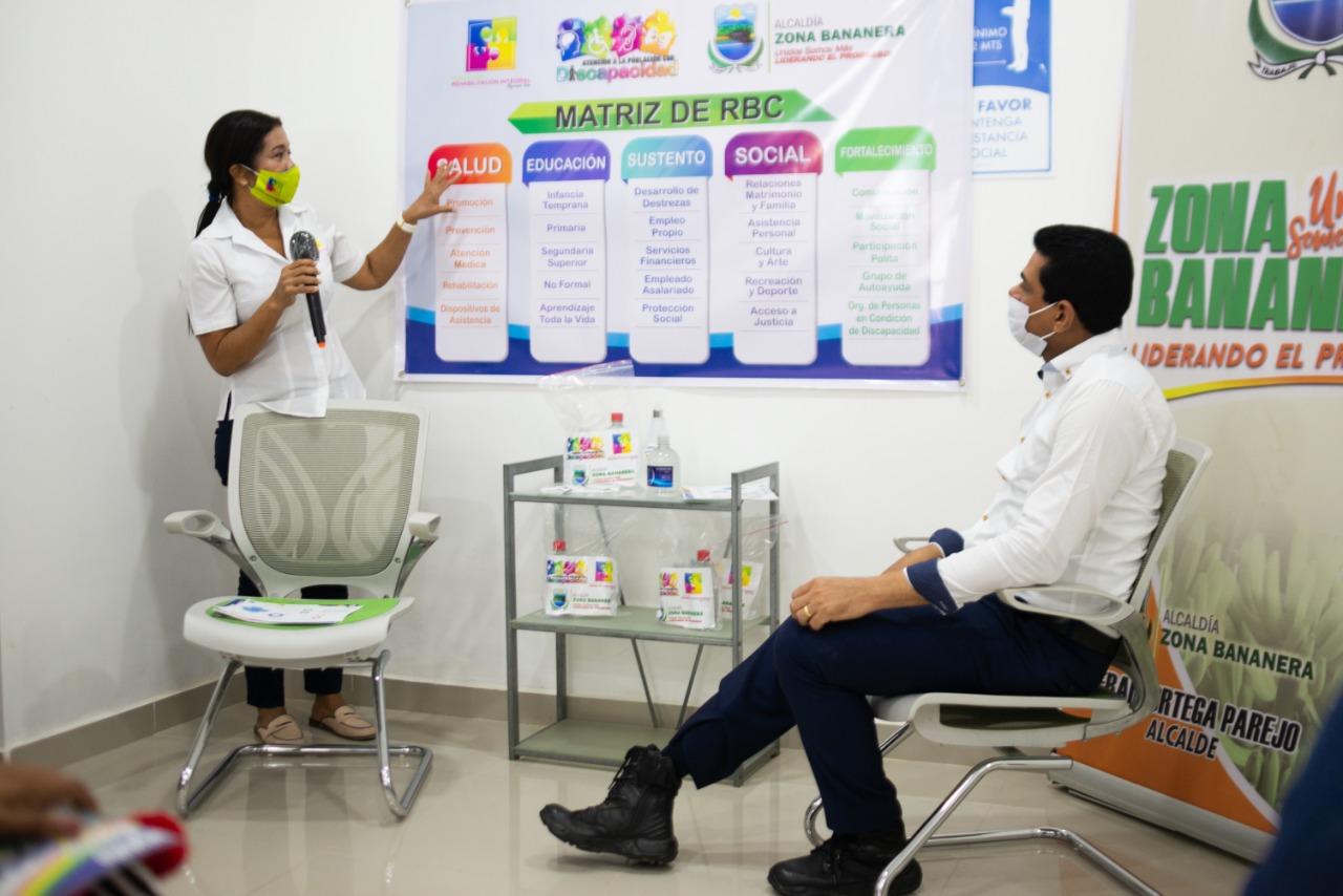Socialización programa para la atención de las personas con discapacidad
