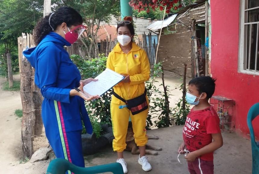Entregas de ayudas humanitarias