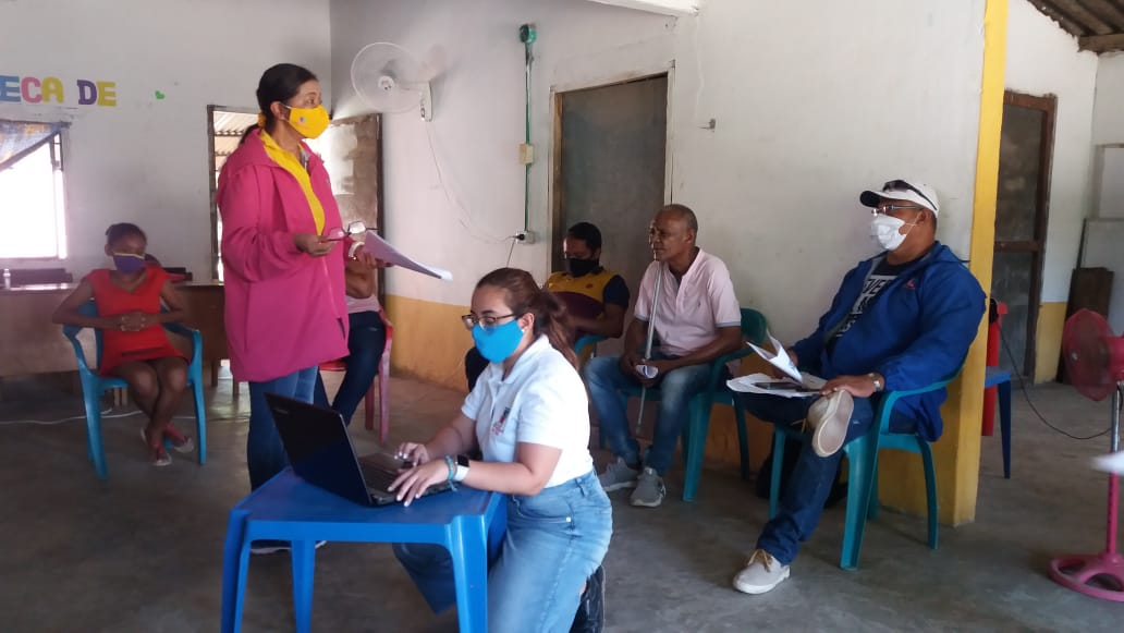 Reunión con posibles integrantes del Comité Municipal de Discapacidad