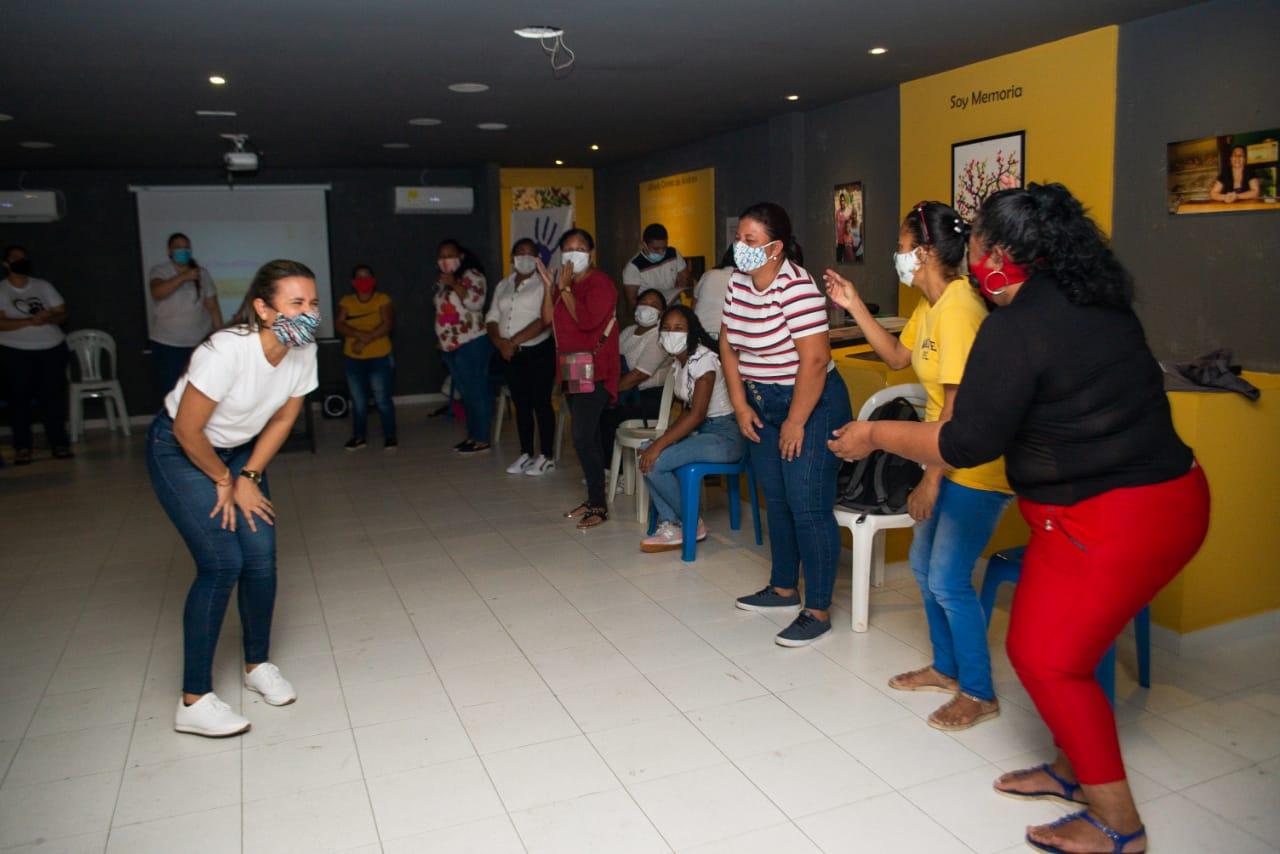 Primera capacitación dirigida a mujeres emprendedoras de la zona urbana de Ciénaga