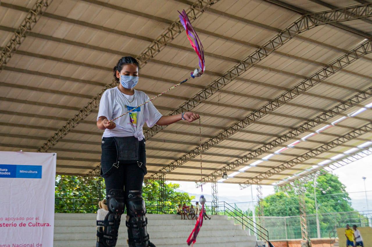 Práctica de taller Circo teatro